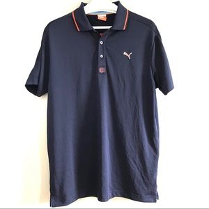 Puma sport lifestyle golf tech athletic polo top M